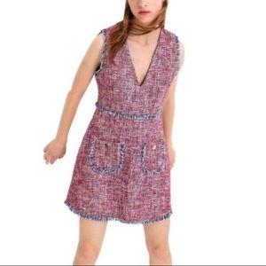 NWT sleeveless tweed dress